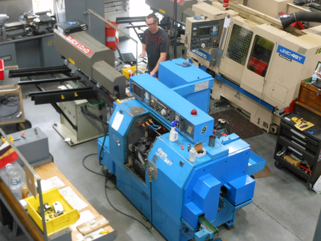 J.B. Precision Inc. - CNC Lathes