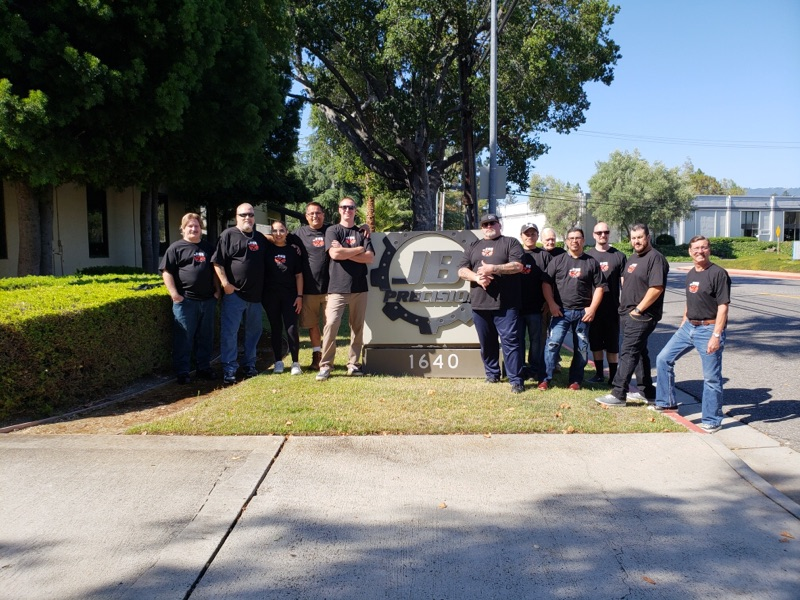 J.B. Precision, Inc employees 2018